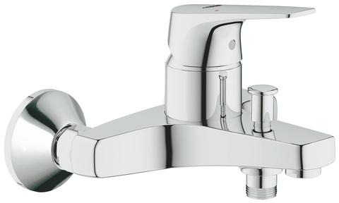 BauFlow Смеситель для ванны, настенный монтаж