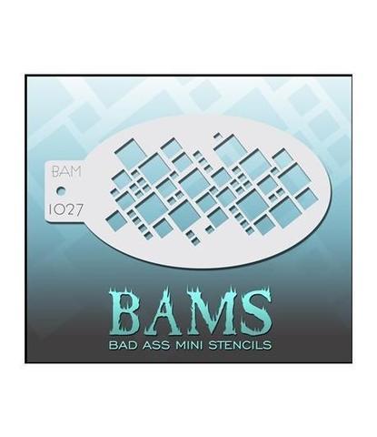 Трафарет BAMS 1027