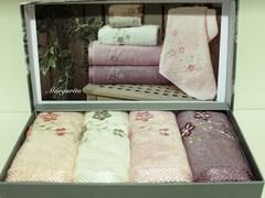 Набор полотенец MARGARITA  МАРГАРИТА  в размере 30х50  Maison Dor Турция