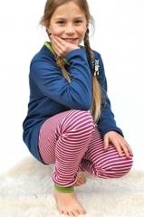 Пижама для девочки Storchenkinder, Темно-голубая
