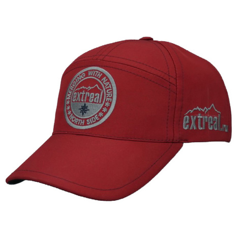 Бейсболка EXTREAL Комфорт красная
