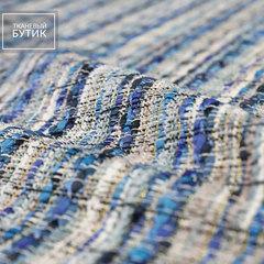 Синяя ткань в стиле