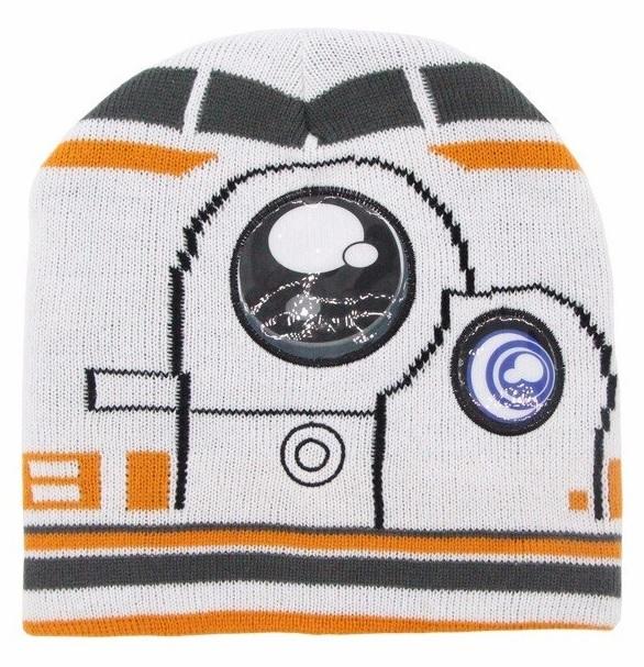Звездные войны шапка детская BB-8