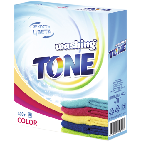 Sellwin Pro Washing Tone Стиральный порошок Color 400г
