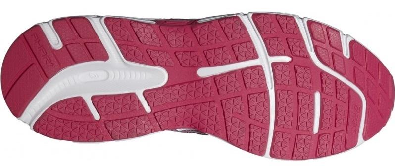 Женские кроссовки для бега Asics Patriot 7 (T4D6N 0120) белые фото подошва