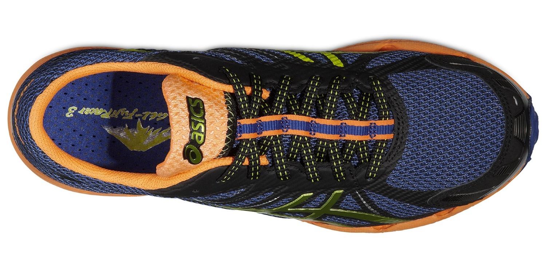 Мужские кроссовки внедорожники Asics Gel-Fuji Racer 3 (T415N 5089) синие фото