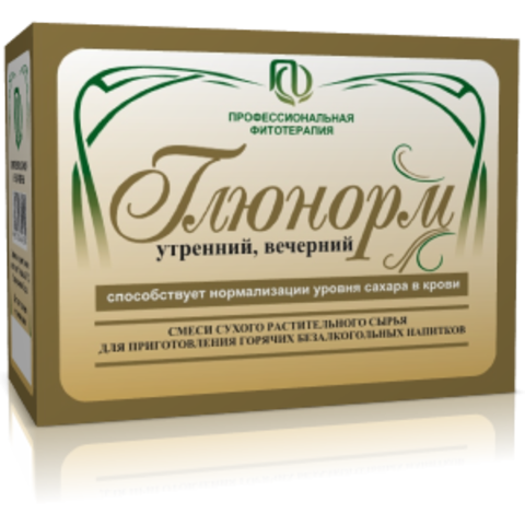 Фитосбор Глюнорм, 60бр*2г
