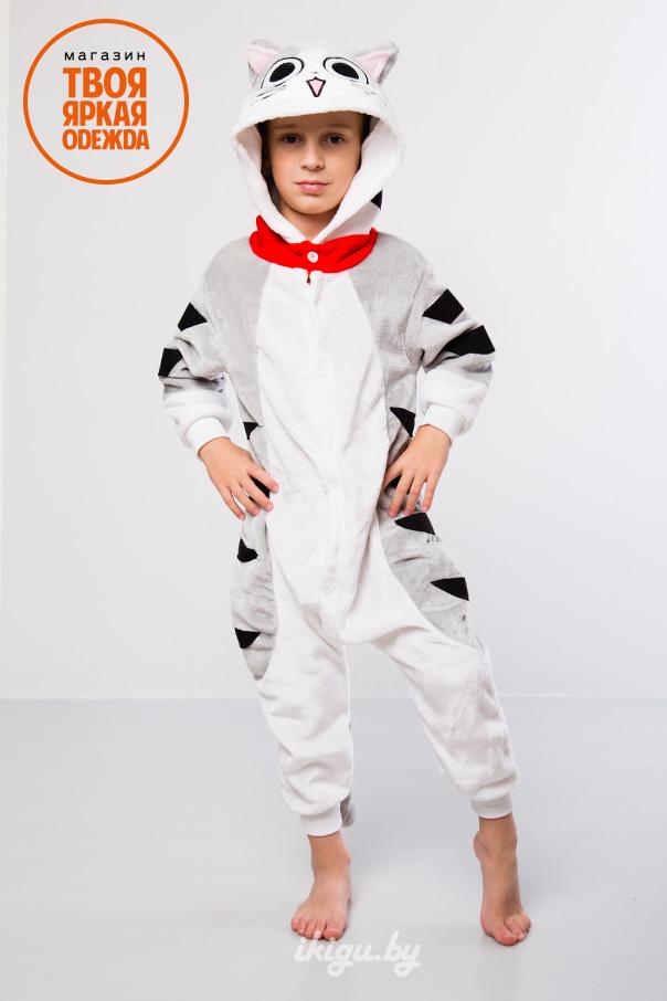 "Детские пижамы кигуруми ""Котенок Чи"" cat2.jpg"