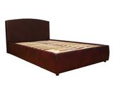 Кровать Севилья с ортопедическим основанием, обивка натуральная кожа