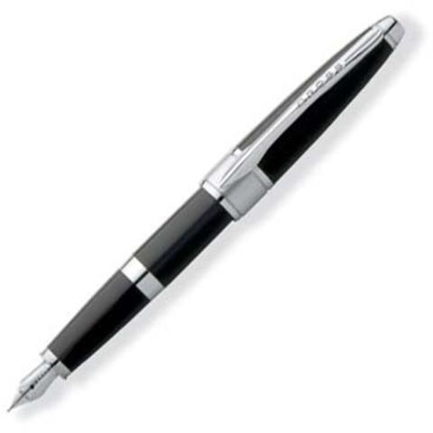 Перьевая ручка Cross Apogee. Цвет - черный.