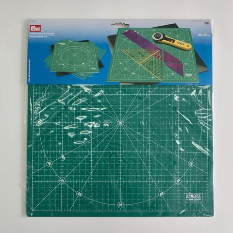 Коврик-подложка вращающийся для раскройных ножей Prym, зеленый цвет. 30х30 (Арт. 610404)