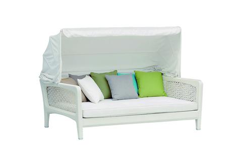Кровать из ротанга Лабро