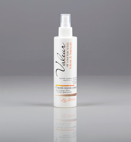 Liv delano Valeur Спрей-термозащита для укладки волос с легкой фиксацией 200г