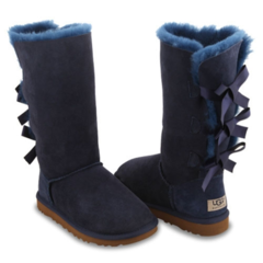UGG Bailey Bow Tall Navy