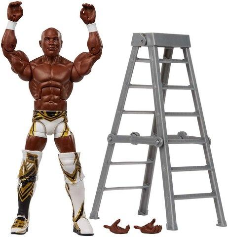 Фигурка Шелтон Бенджамин (Shelton Benjamin) серия 63 - рестлер Wrestling WWE Elite Collection, Mattel