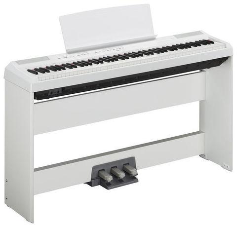 Цифровое пианино Yamaha P-115 (с фирменной стойкой и 3 педалями)