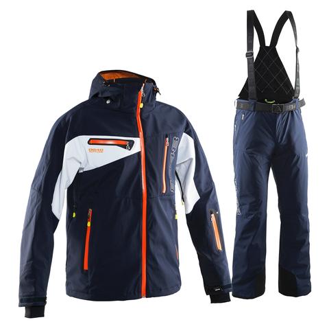 Мужской горнолыжный костюм 8848 Altitude Rocky 15/Guard (navy)