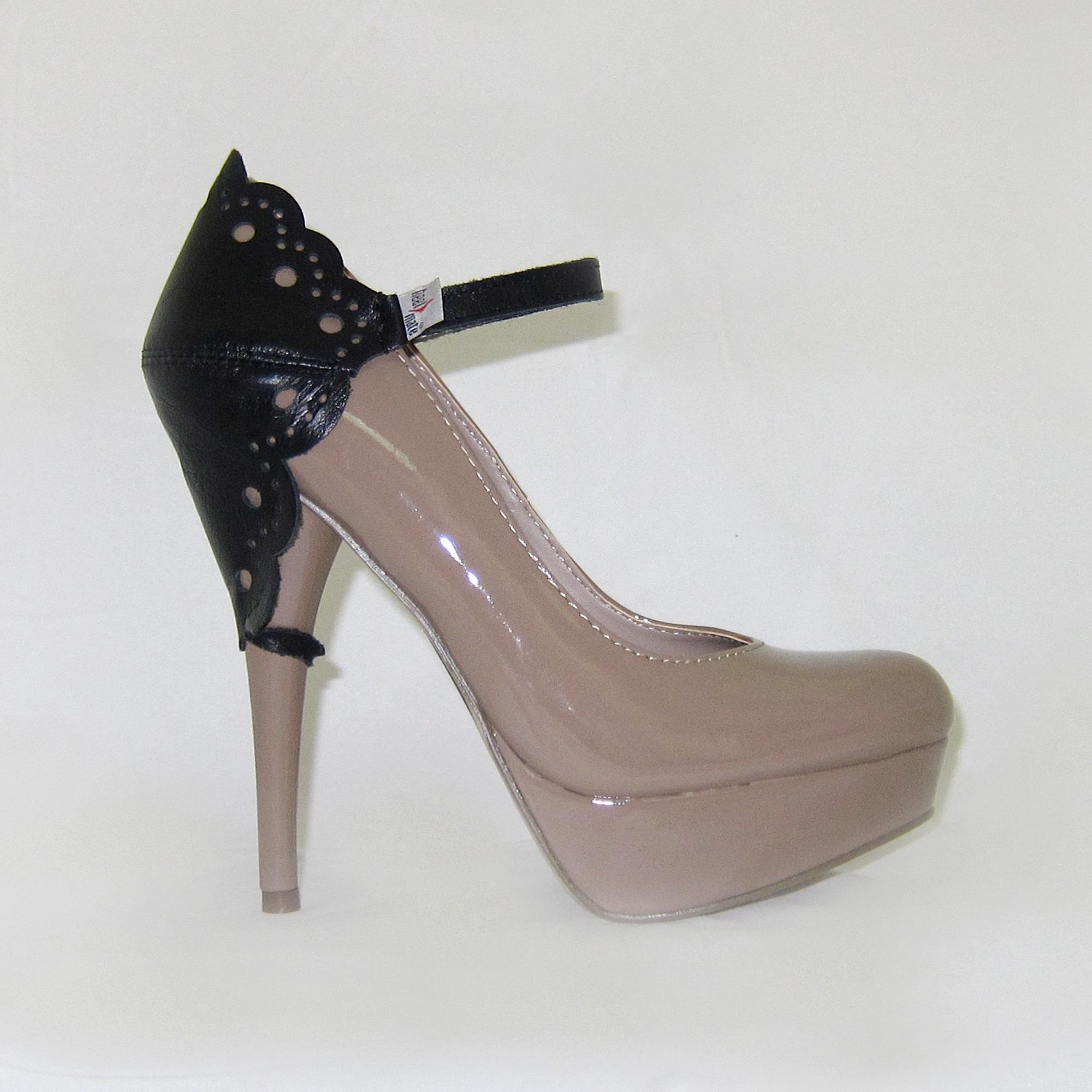Автопятка ажурная для женской обуви на каблуке