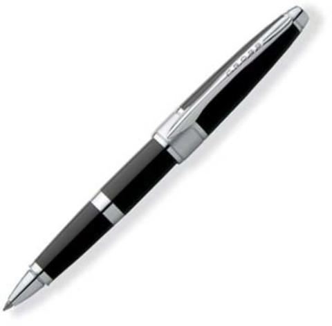 Ручка-роллер Selectip Cross Apogee . Цвет - черный.