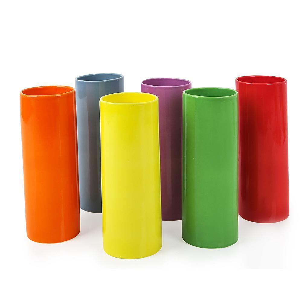 Мини-вазы цветные BASIC RAINBOW