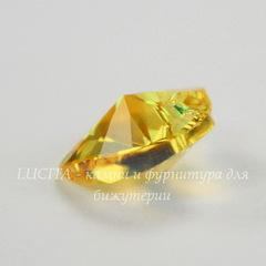 6228 Подвеска Сваровски Сердечко Light Topaz Shimmer (10,3х10 мм)