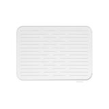 Силиконовый коврик для сушки посуды, Светло-серый, артикул 117466