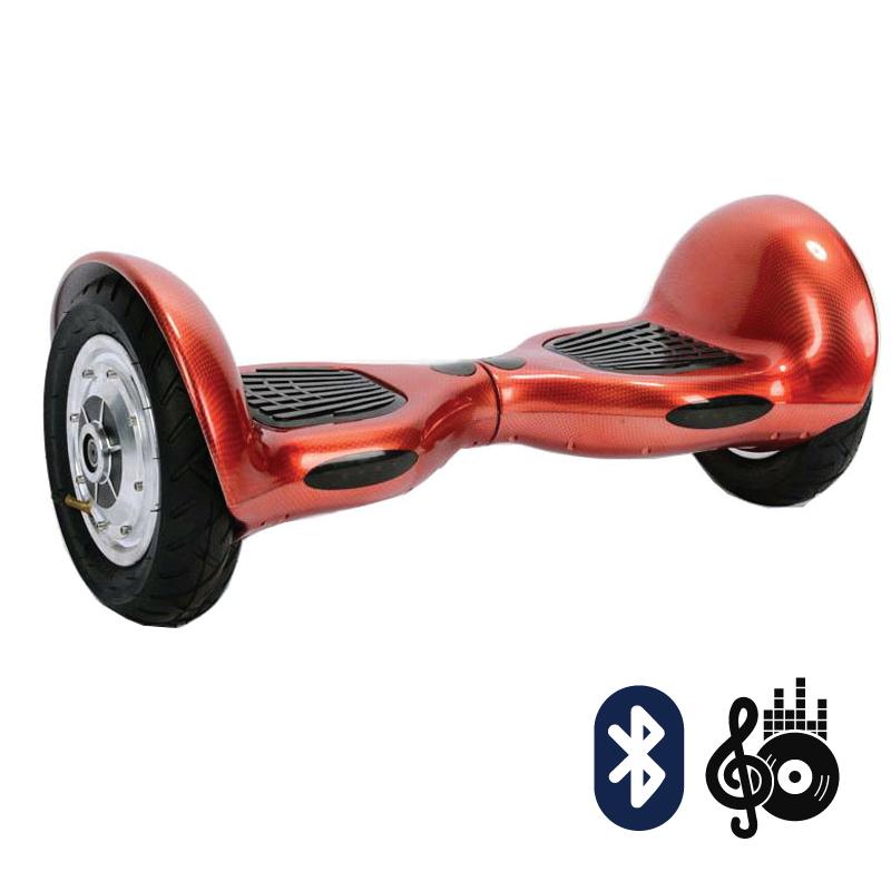 Smart Balance SUV 10  красный карбон (Bluetooth-музыка + сумка) - 10 дюймов, артикул: 638216