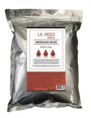 Альгинатная маска с желтой глиной La Miso