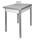 Раздвижной обеденный стол с откидной столешницей М142.82