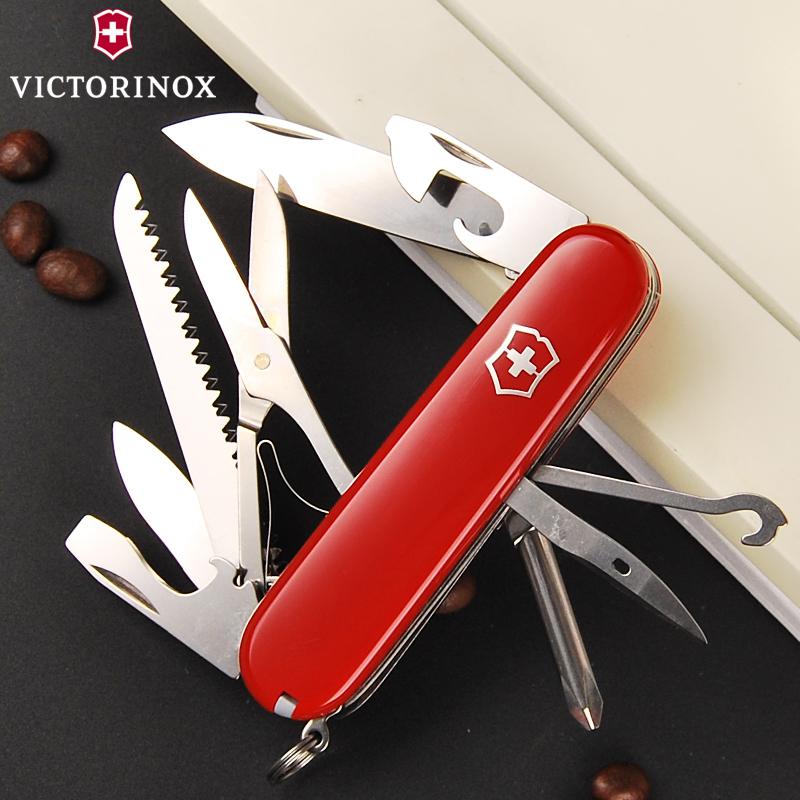 Складной нож Victorinox Fieldmaster (1.4713) 91 мм., 15 функций, цвет красный - Wenger-Victorinox.Ru
