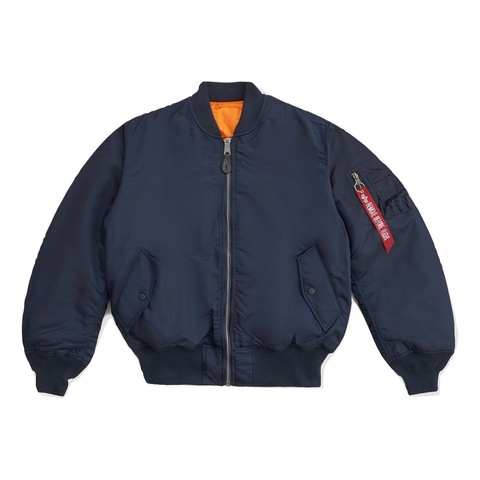 Куртка бомбер Alpha Industries MA-1 Replica Blue