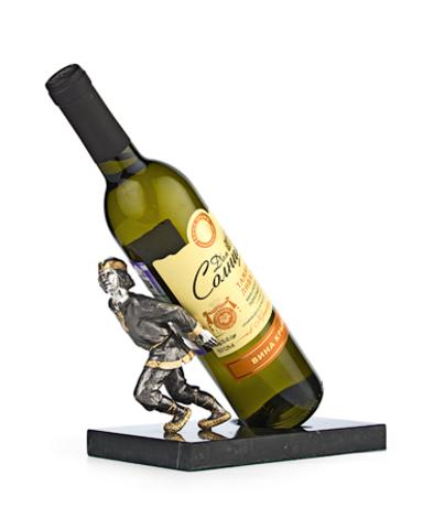 Подставка под винную бутылку «Своя ноша не тянет».