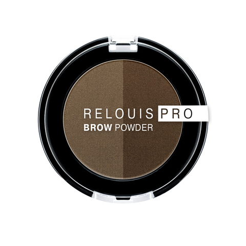 Relouis Relouis Pro Тени для бровей Brow Powder тон 02 Taupe