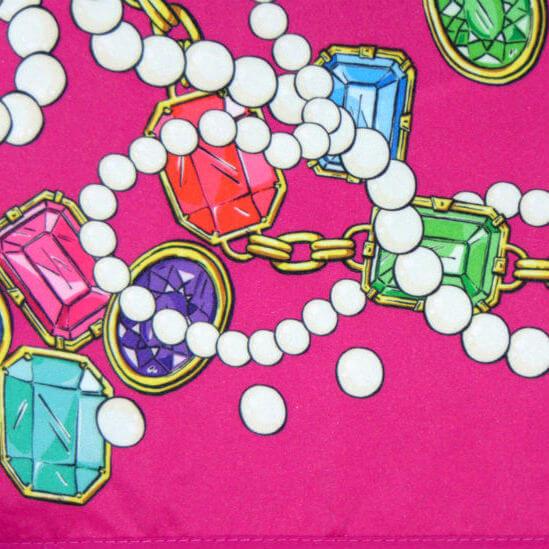 Зонт складной Moschino 7120-54-J Jewels