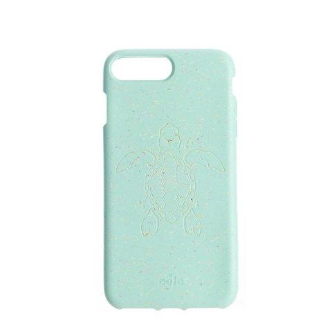 Чехол для телефона Pela iPhone 6+/7+/8+ Ocean (мятный с черепахой)