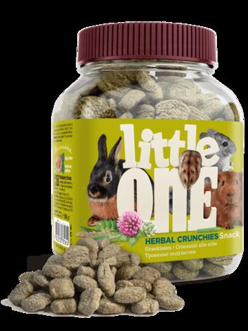 Little One лакомство для грызунов Травяные подушечки 100г