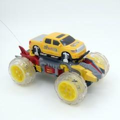 Радиоуправляемый желтый джип стреляющий дисками - 333-DD03
