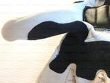 Мотоперчатки кожаные RS Taichi NXT047, бело-синие