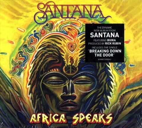 Santana / Africa Speaks (CD)