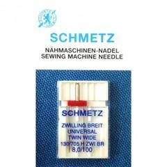 Фото: Игла Extra wide twin needle 130/705 H ZWI BR SES №1-8,0/100