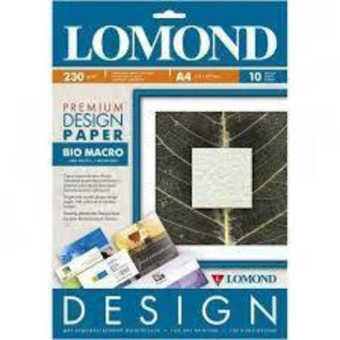 Lomond IJ (0917141) 230/A4/10л, бумага Кожа Дизайн Премиум, матовая