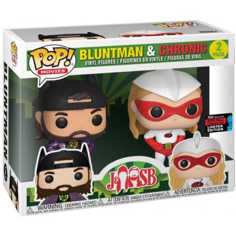 Jay & Silent Bob -  Movies - Bluntman & Chronic Funko Pop! (Exc)! || Пыхарь и Хроник