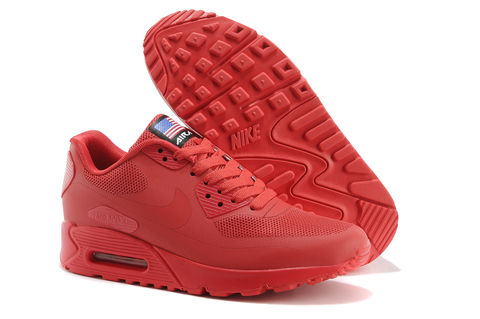 Nike Air Max 90 Hyperfuse Independence Day Red купить со скидкой в ... bca8a8a53ca