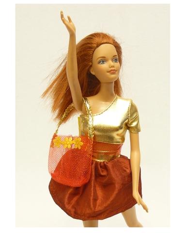 Костюм с юбкой - Детали. Одежда для кукол, пупсов и мягких игрушек.