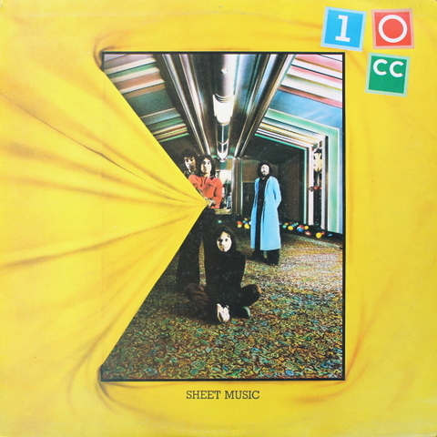 10cc ‎/ Sheet Music (LP)