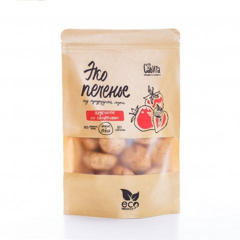 Савита эко печенье «Клубника со сливками» 280 г