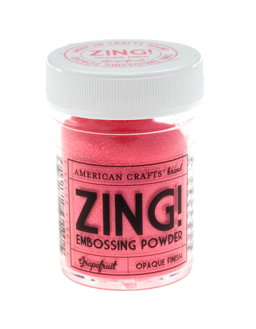 Пудра для эмбоссинга ZING! Grapefruit