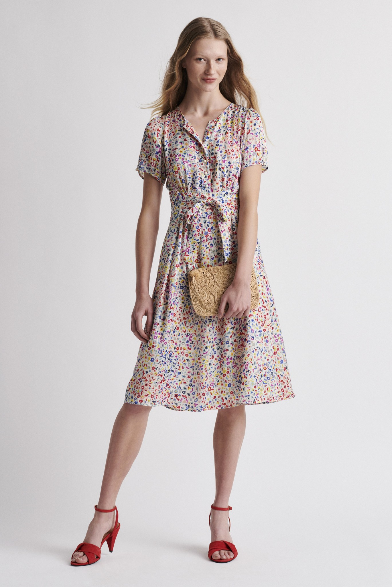 SALVINA - Платье с цветочным принтом