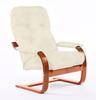 Кресло «Онега 2», ткань слоновая кость, каркас вишня, GREENTREE, г. Воронеж
