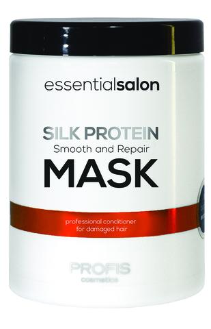 Разглаживающая маска для поврежденных волос SILK PROTEIN MASK